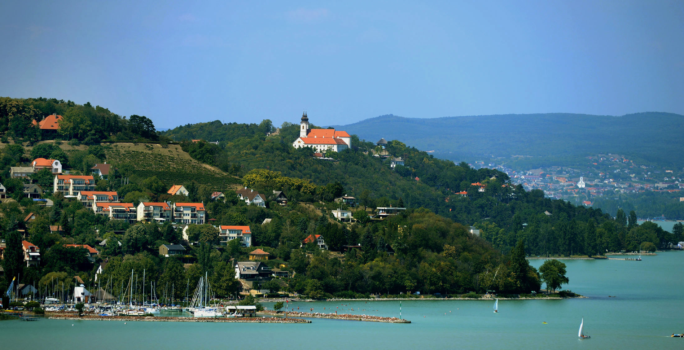 the lake balaton by - photo #49